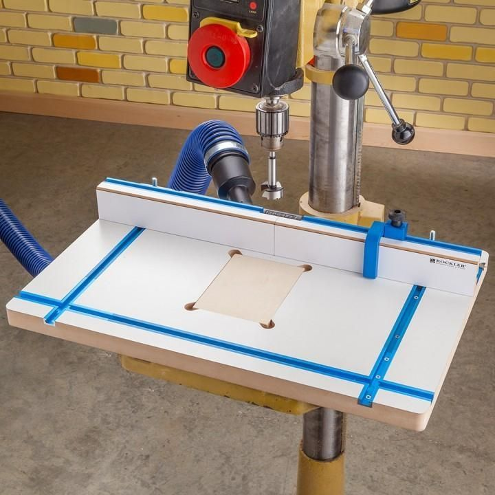 Rockler Drill Press Fence Drill Press Woodworking Bench Drill