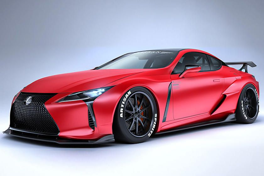 The Lexus Lc 500 Coupe Now Has A Fresher Look Courtesy Of Artisan Spirits In Japan Discover More Here Lexus Lc Lexus Cars Lexus