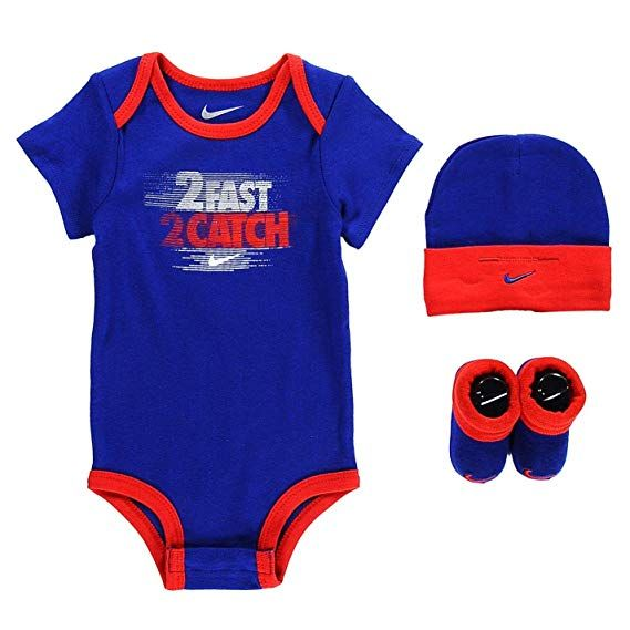 Nike Hat Bootie Set Baby Boys 0-6 MNTH