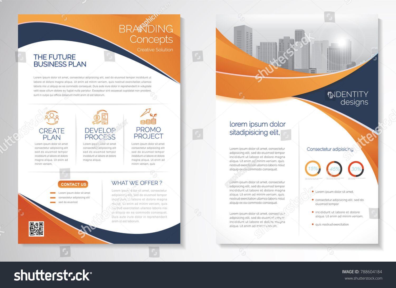 Template Vector Design For Brochure Annualreport Magazine Poster Corporate Presentation Portfolio Flyer Info Brochure Brochure Design Infographic Layout