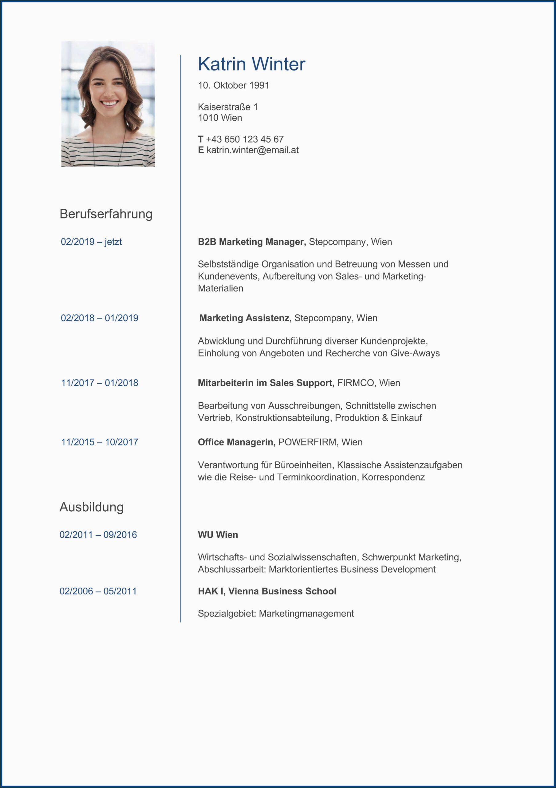 Unsere lebenslauf vorlagen sind darauf ausgerichtet, einen gut strukturierten überblick über deinen berufsweg und deine fähigkeiten zu geben. 61 Ide Lebenslauf Vorlage Kostenlos Desain Cv Cv Kreatif Bahasa Jerman