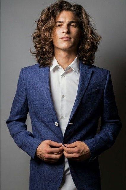 Marco Lo Chiatto Long Hair Styles Men Long Hair Styles Long Curly Hair Men