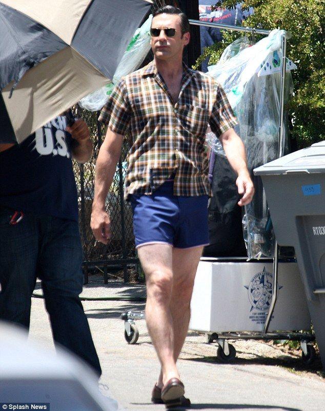 Jon Hamm Is Shirtless To Film The Final Episode Of Mad Men Jon