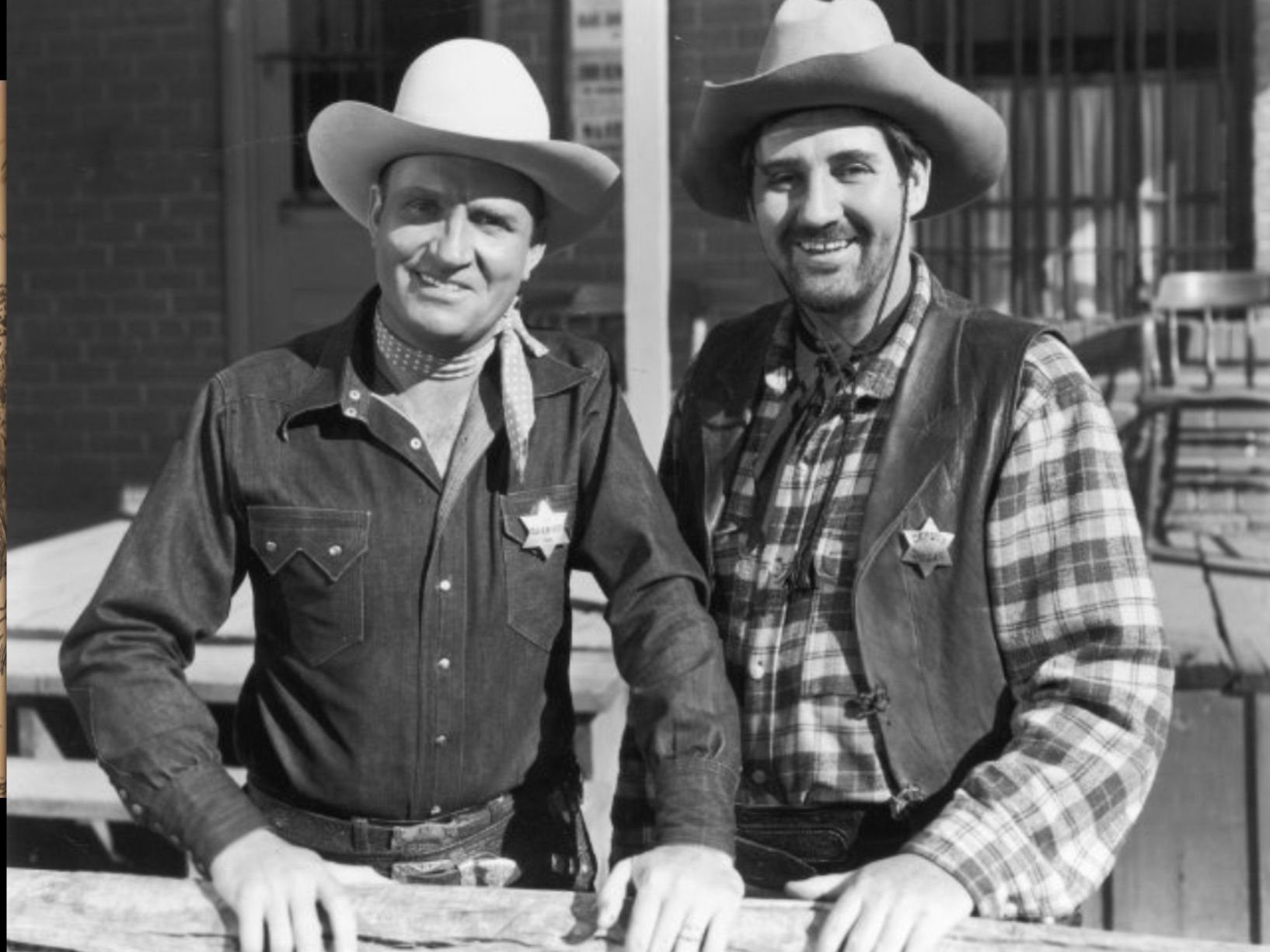 """Gene Autry was my childhood idol. He is pictured with his sidekick Pat  Butrum. His theme song was """"Back in the Saddle Aga… 