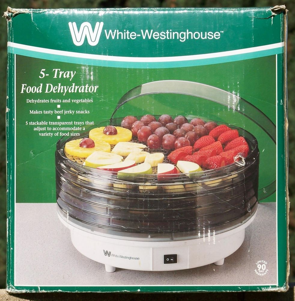 Details about White Westinghouse WLD1010 5-Tray Food ...
