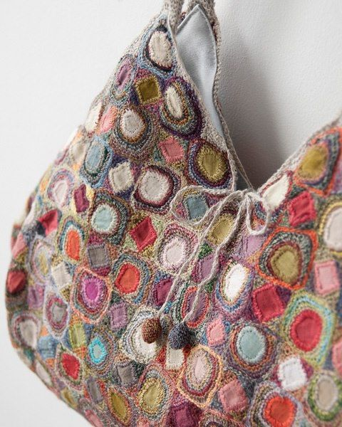 Sophie Digard crochet bag...Stunning work of art