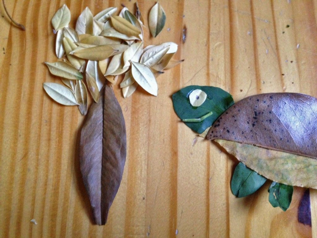 Create These Kid Friendly Leaf Animals On Your Next