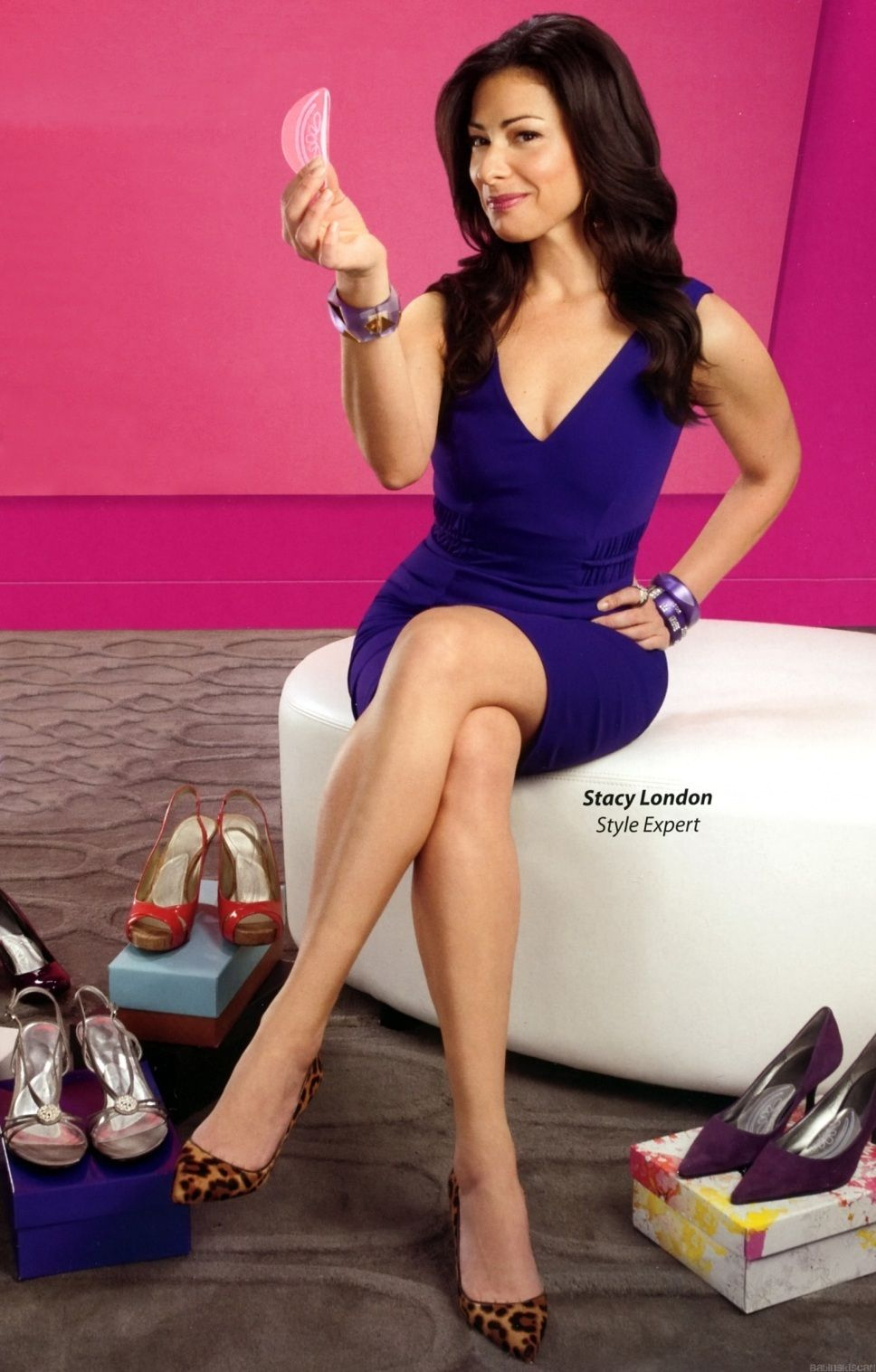 What Not To Wear's Stacy London Reveals She Fell Truly In Love With First Girlfriend Cat Yesbak