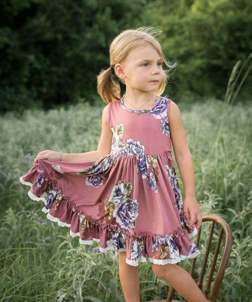 NEW Elara Knit Dress Marlee Mauve Running Generous