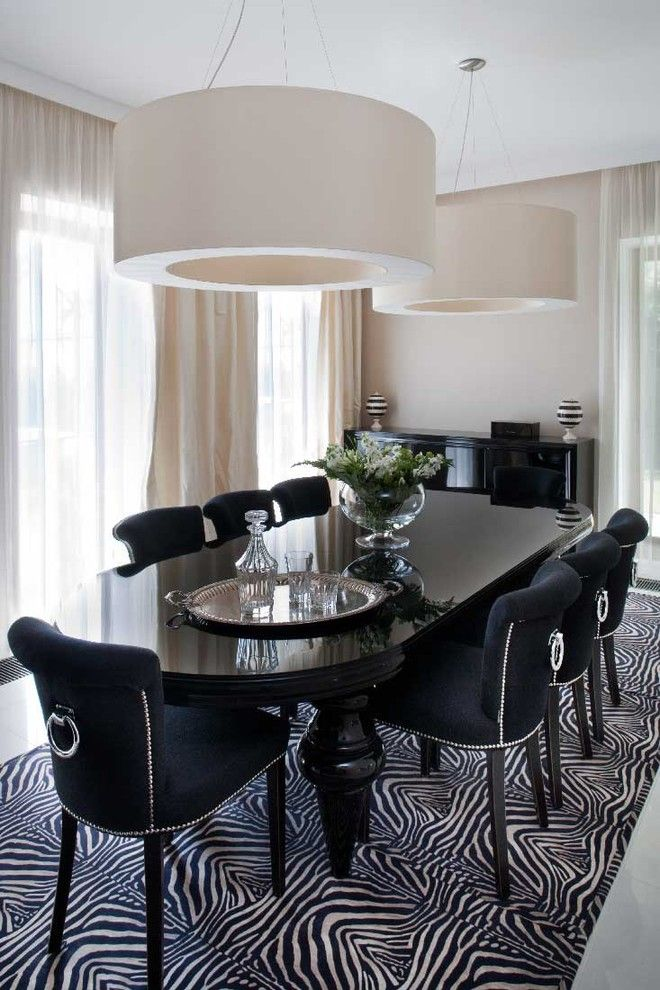 Decorative Dining Room Modern Design Ideas For Zebra Print Dining Room  Chairsu2026