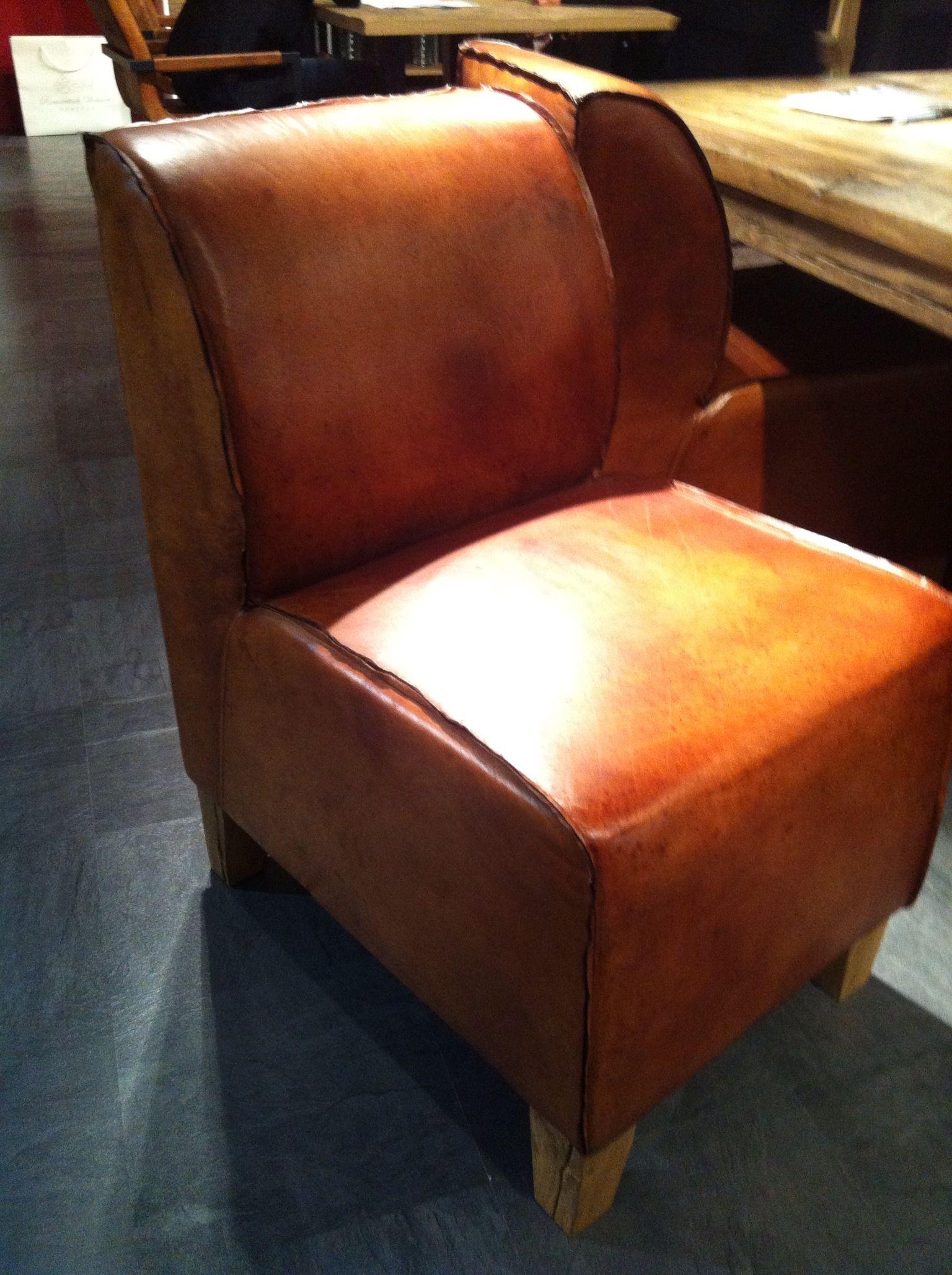 Vintage Stuhlsessel aus Leder. Perfekt am Esstisch und fürs Esszimmer.  Ein Must have!