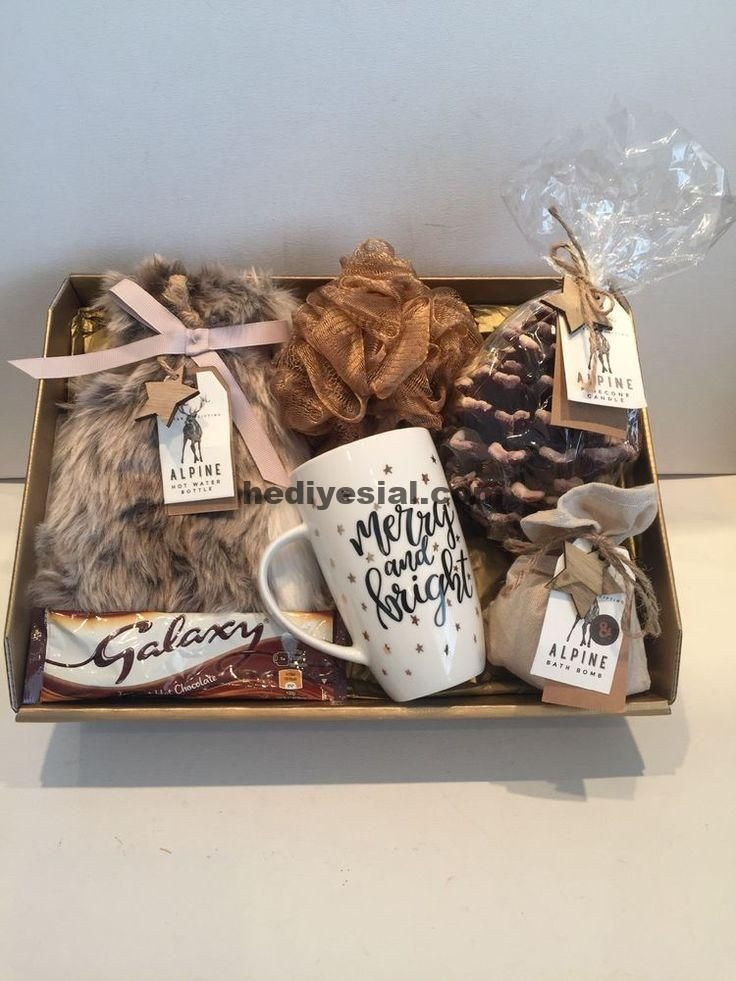 Hamper gift basket for her ladies gift idea mother daughter wife sister o ...  #basket #daughter #hamper #ladies #mother #sister #boyfriendgiftbasket