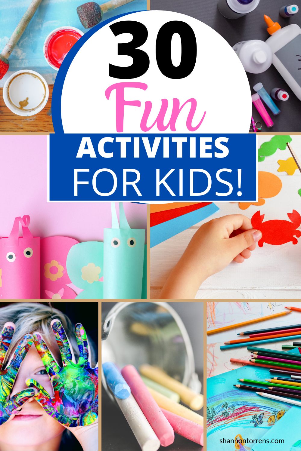 30 Fun Distance Learning Activities KIDS!