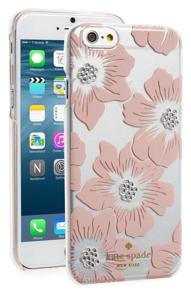 new concept 6c4e2 24514 kate spade new york 'hollyhock' iPhone 6 & 6s case available at ...