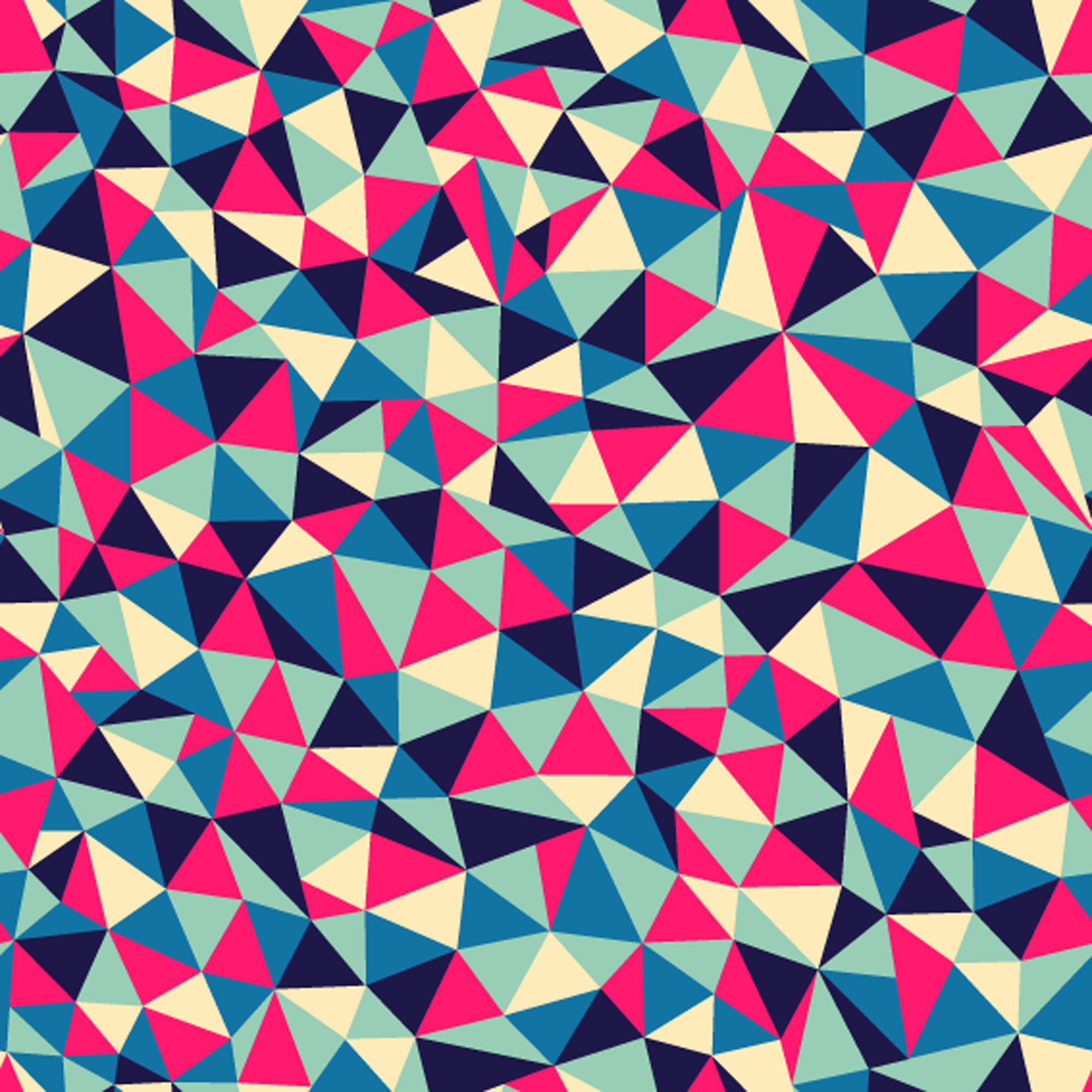 Triangle Pattern Magnificent Design