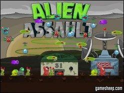 Genius Alien Assault Shooting Game