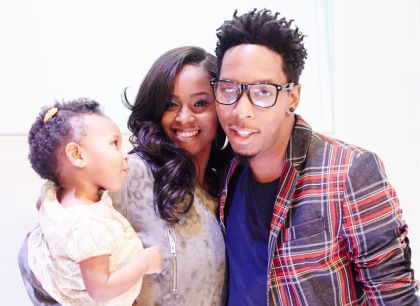 Deitrick Haddon Baby Deitrick Haddon and Dominique Haddon