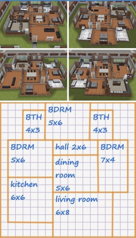 Maison Minecraft Plan Idees