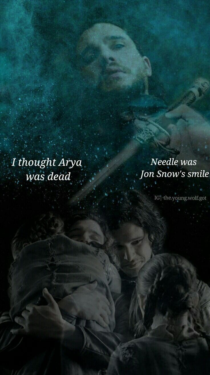 Pin by Slade Romanov on Jon Snow and Arya Stark Lyanna