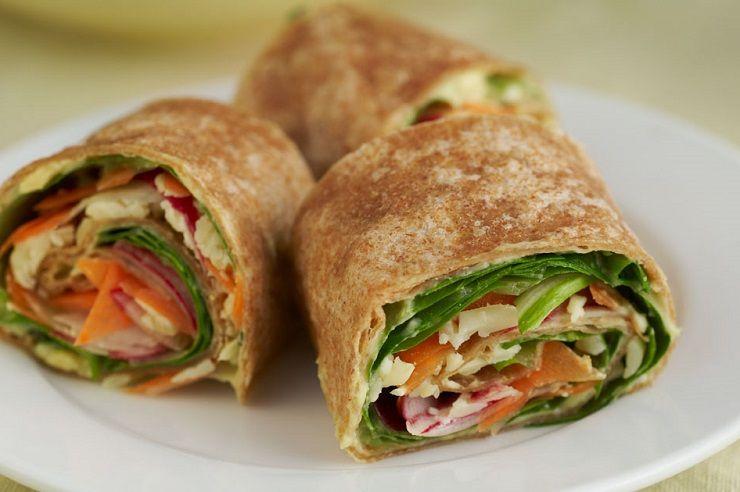 Gryczane Wrapy Z Warzywami Naszakasza Pl Recipe Healthy Snacks Recipes Veggie Wraps School Snack Recipe