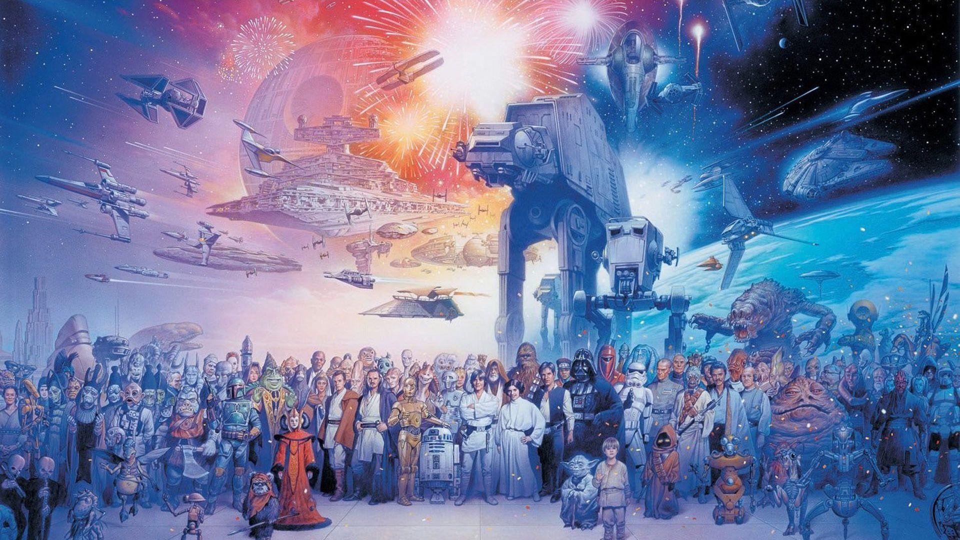 Wallpaper Dump In 2020 Star Wars Wallpaper Galaxy Poster Star Wars Decor