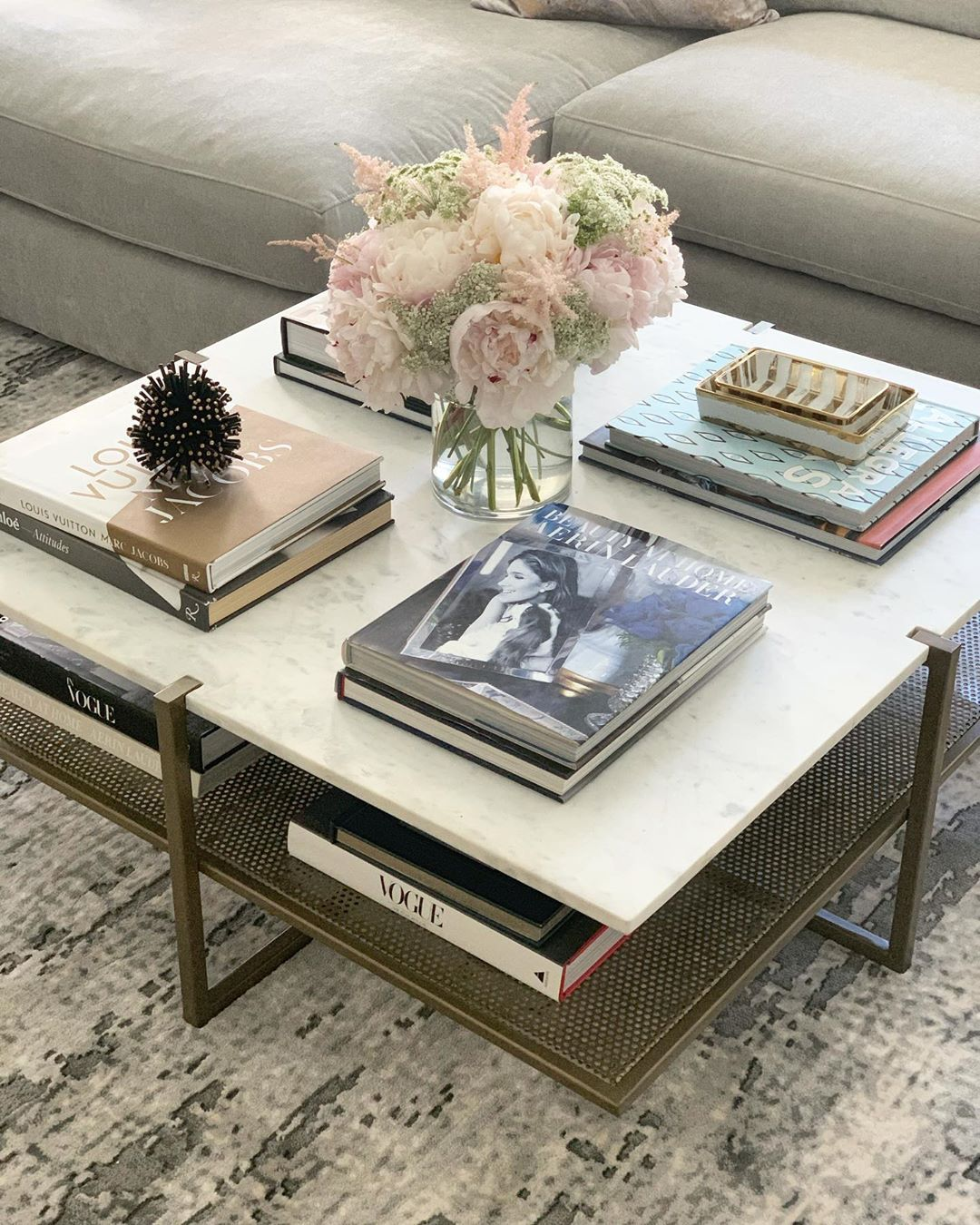 High Fashion Home On Instagram Love A Two Tier Coffee Table That S Gorgeous And Functional And If You Need Great Coffee Coffee Table High Fashion Home Decor [ 1350 x 1080 Pixel ]