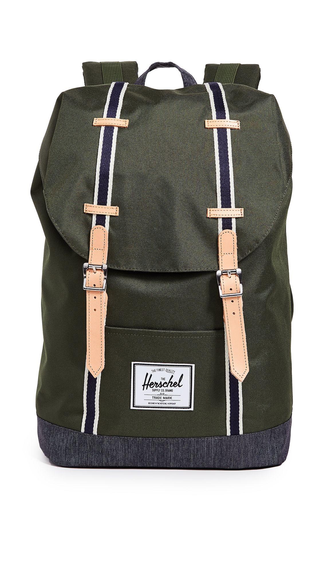2ed42ffc4f9 HERSCHEL SUPPLY CO. RETREAT BACKPACK.  herschelsupplyco.  bags  leather   backpacks