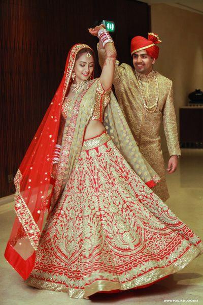 Wedding Ideas & Inspiration | Bridal lehenga