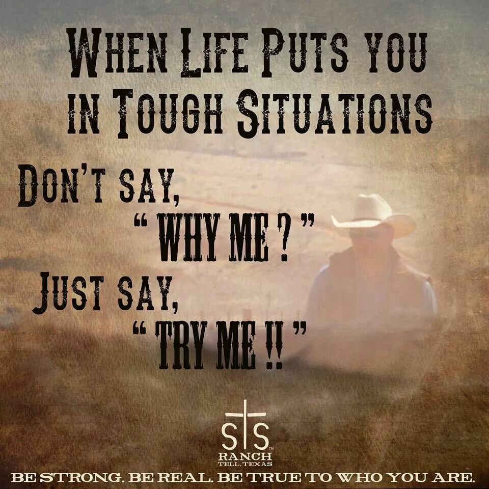 Rodeo sayings