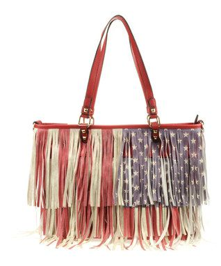 All About Americana Accessories Zulily Red Tote Fashion Tote
