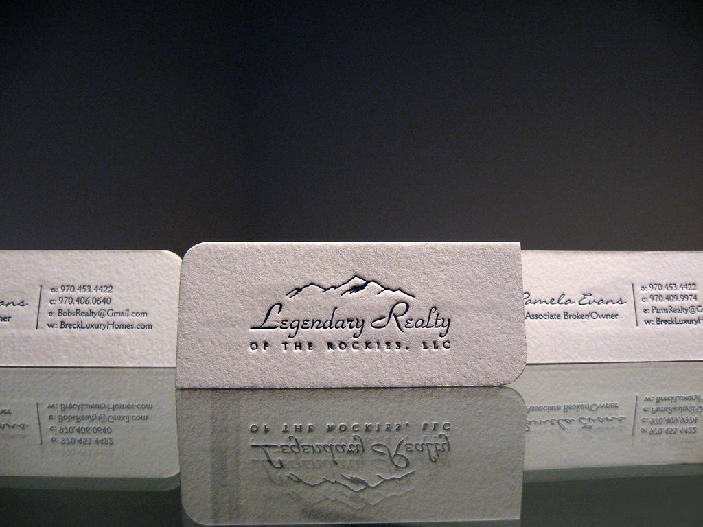 I need business cards like this! Legendary Realty :: Custom Work ...