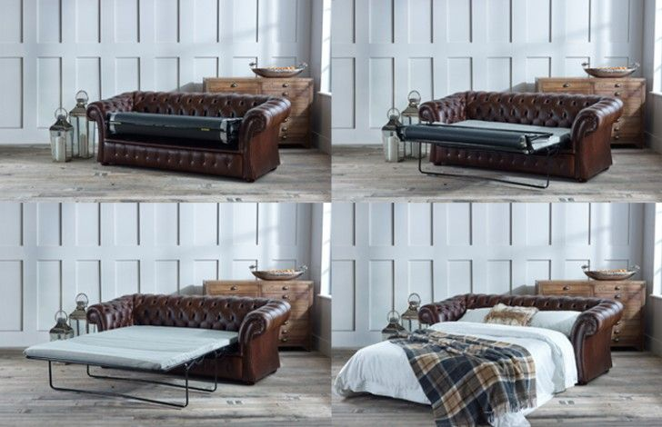 Pemberton Chesterfield Sofa Bed