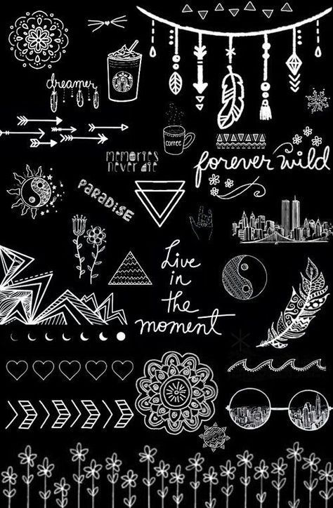 Download the Best of Black Wallpaper Cute for Samsung Today from weheartit.com