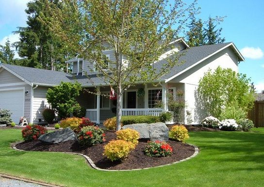 Front Yard Curb Appeal Ideas Minimalist Symmetrical And