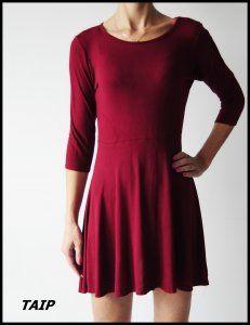 Boohoo Piekna Ciemno Czerwona Sukienka 40 6265415280 Oficjalne Archiwum Allegro Dresses Fashion Mini Dress
