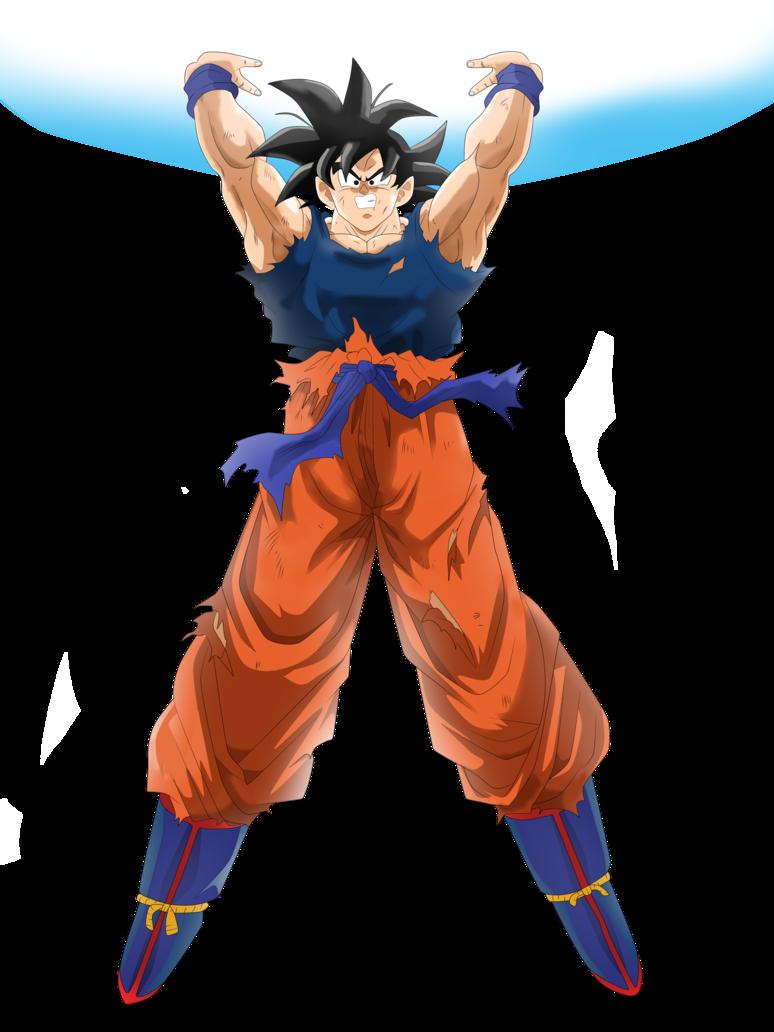 Goku Genki Dama by andrewdragonball | DragonBall | Pinterest | Goku