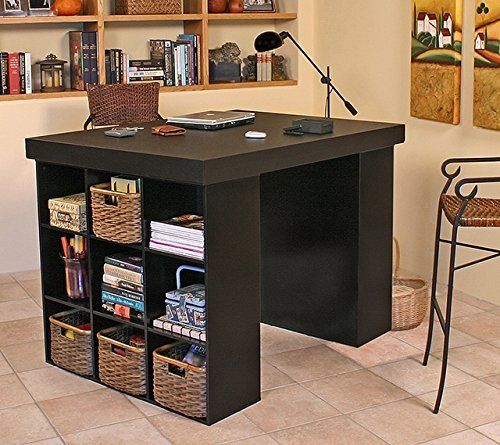 Craft Room Desk Diy Easy Project Video Instructions Craft Storage Furniture Home Office Layouts Diy Sewing Table