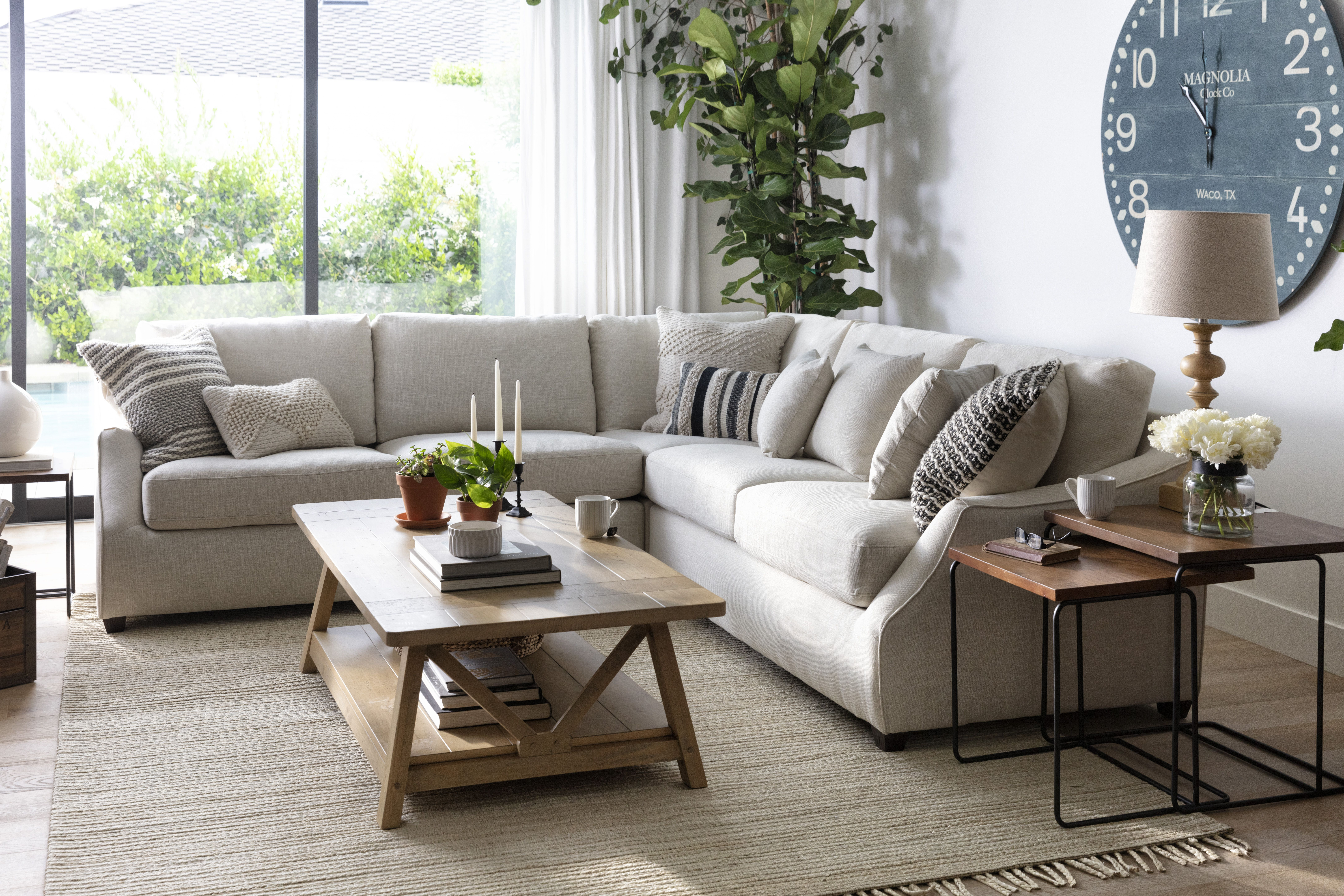 Magnolia Home Collection By Joanna Gaines Joanna Gaines Living Room Farm House Living Room Magnolia Homes Living room ideas magnolia