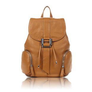 Korean Style Vintage Leather Handbags Backpack Bags