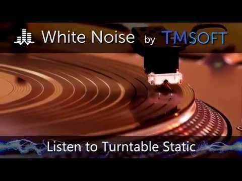 Turntable Static White Noise App Sound Sleep White Noise