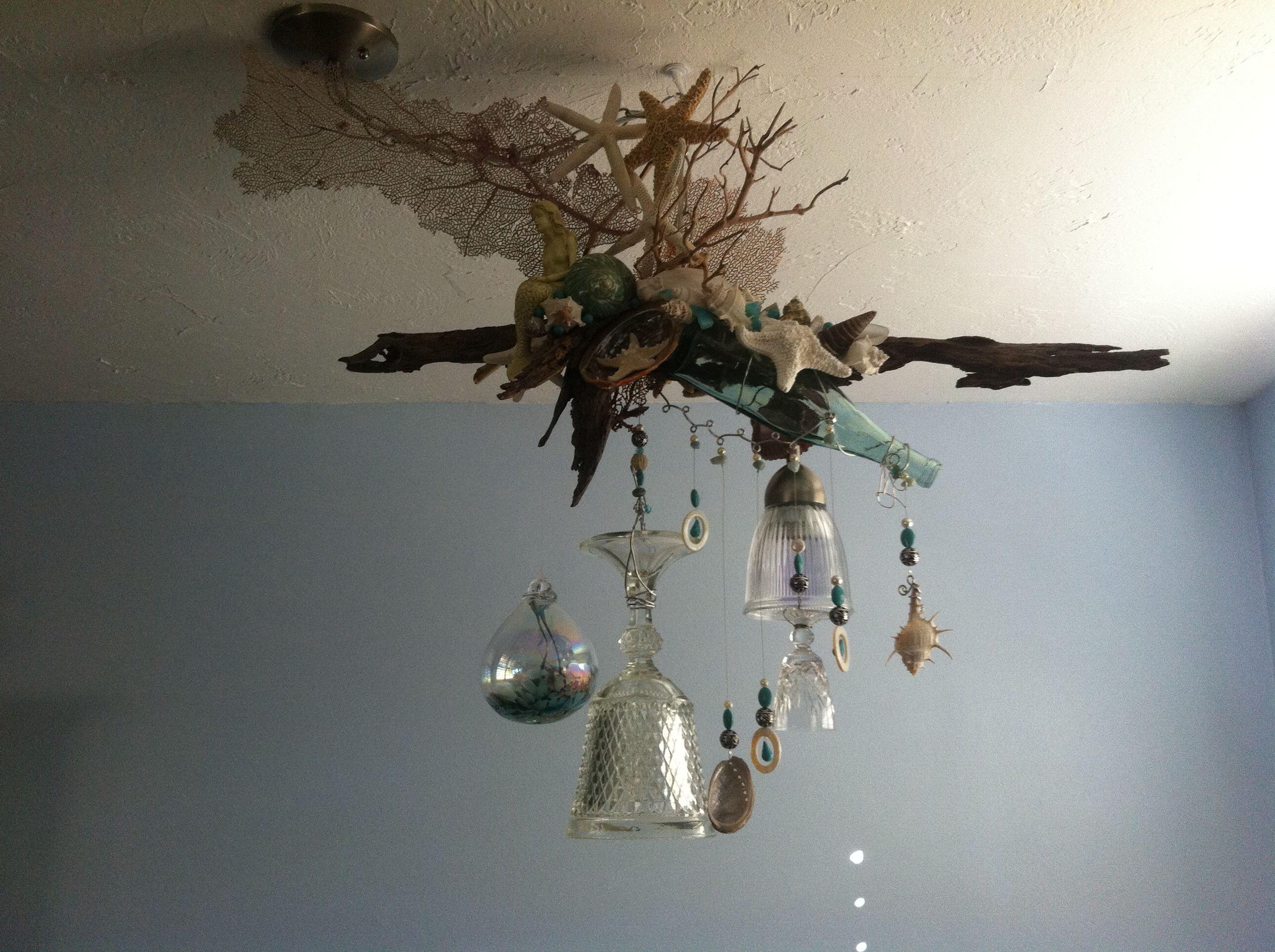 My homemade chandelier my homemade chandelier pinterest my homemade chandelier arubaitofo Gallery
