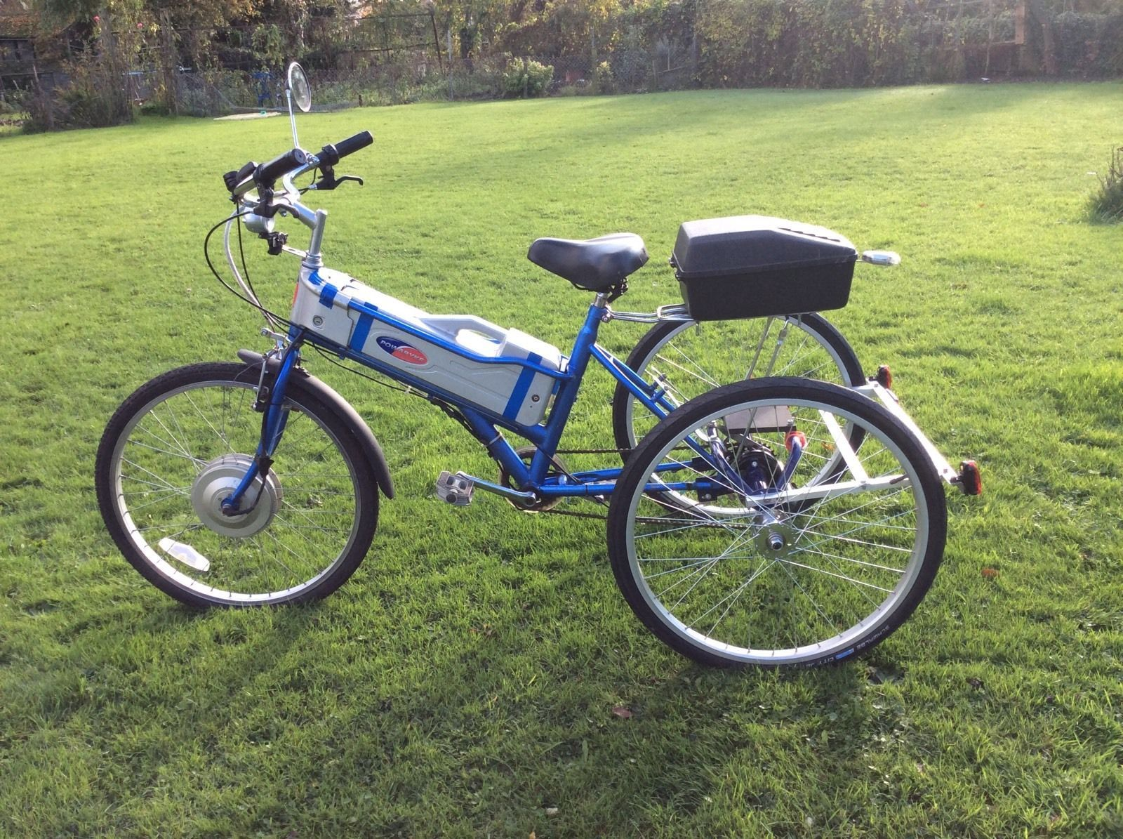 Euro Powabyke 5 Speed Electric Tricycle Battery Operated