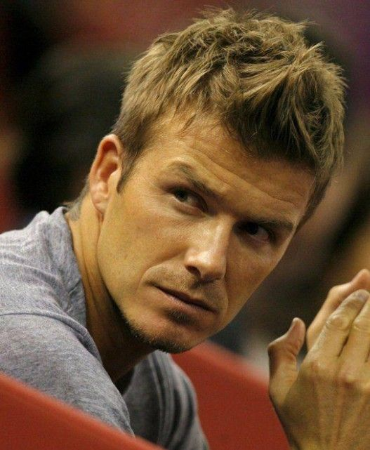 David Beckham Fauxhawk Haircut Cool Spiky Hairstyle For Men Hairstyles Weekly