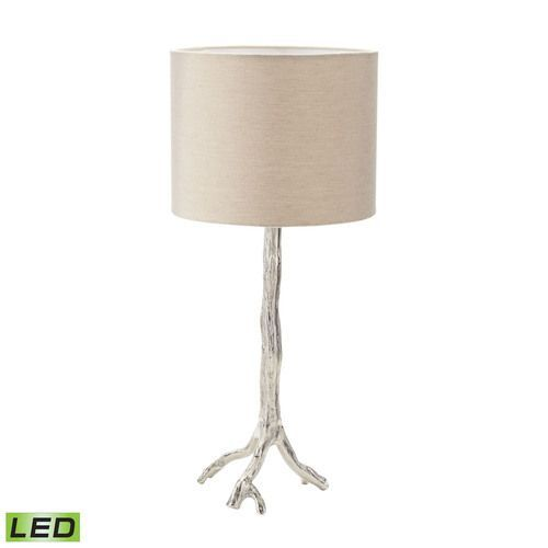 Tree Branch LED Table Lamp In Nickel   468 022 LED