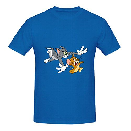 >> Click to Buy << Tom and Jerry Show Logo Design Round Neck Men's T-shirt Men Funny casual streetwear hip hop printed T shirt #Affiliate
