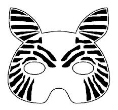Resultado De Imagen De Mascara De Cebra Encima Cabeza Para Imprimir Mascara De Cebra Cebra La Cebra Camila
