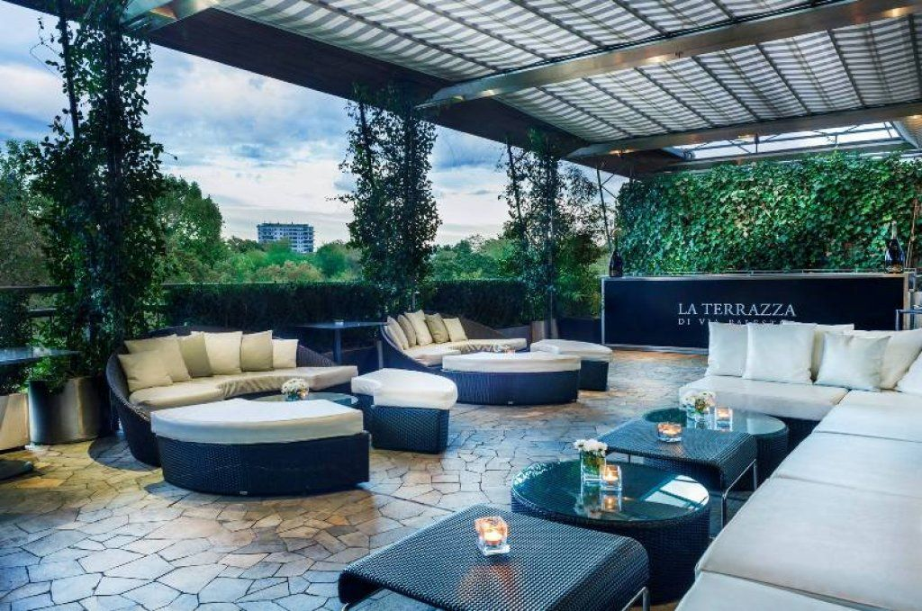 La terrazza di via palestro with its breathtaking overlooks offers one of the most amazing views in the city and the italian menu is just delicious