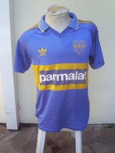 huge discount 59f13 0b402 Boca Juniors Home football shirt 1993   football team ...