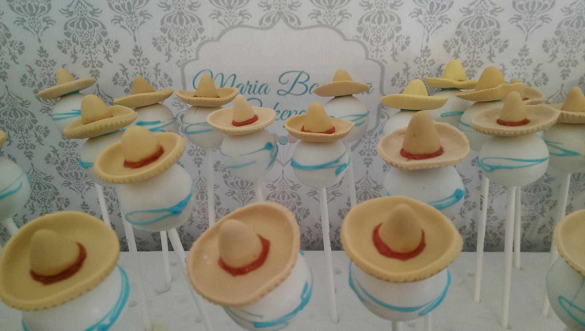 Sombrero cakepops |