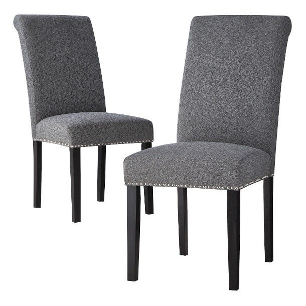 Avington Dining Chair with Nailheads Set of 2 $219